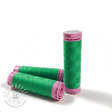 Polyester thread Amann Aspo 120 green