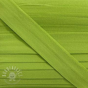 Bias binding elastic matt 20 mm green