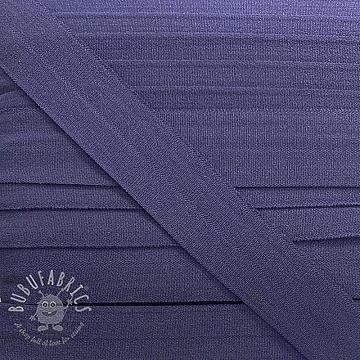 Bias binding elastic matt 20 mm lilac