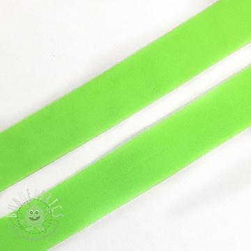 Bias binding elastic matt 20 mm neon green