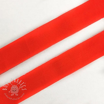 Bias binding elastic matt 20 mm neon orange
