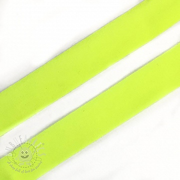 Bias binding elastic matt 20 mm neon yellow