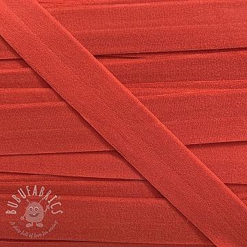 Bias binding elastic matt 20 mm strawberry