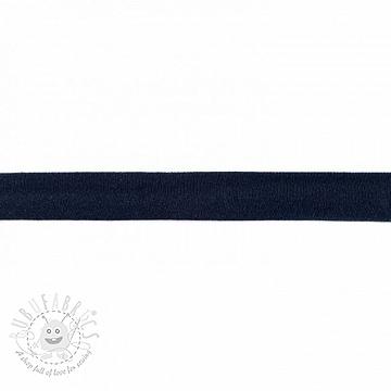 Bias binding jersey night blue