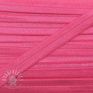 Bias binding elastic 15 mm pink