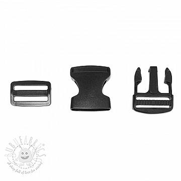 Bum Bag Clip 38 mm black