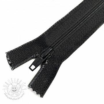 Coil Zipper 70 cm black