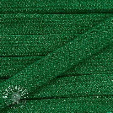 Cotton cord flat 17 mm dark green