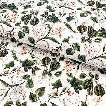 Cotton fabric Maranta digital print