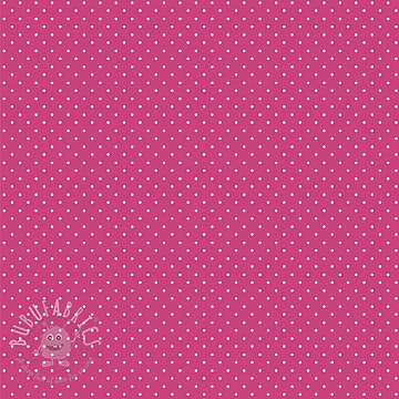 Cotton fabric Petit dots pink