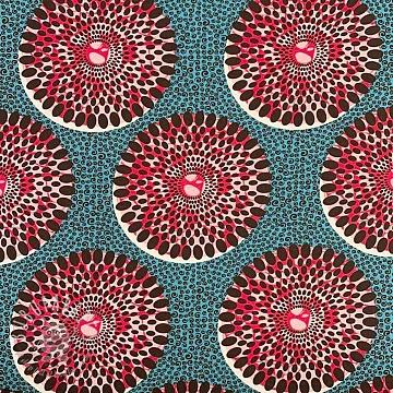 Cotton fabric Seed digital print