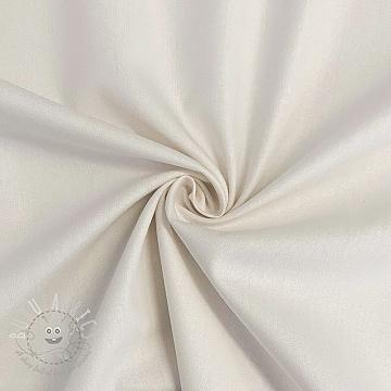 Cotton poplin ecru