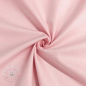 Cotton poplin GOTS light pink