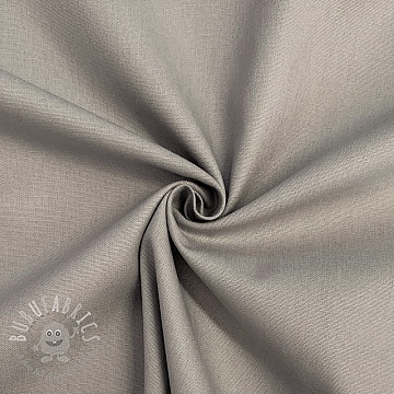 Cotton poplin grey