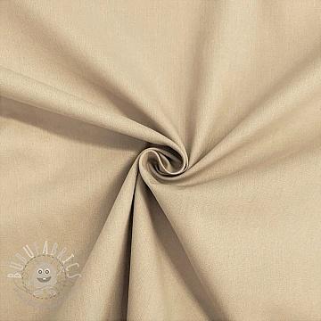 Cotton poplin sand