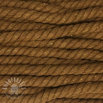 Cotton cord 15 mm brown