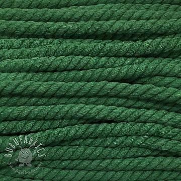 Cotton cord 15 mm green