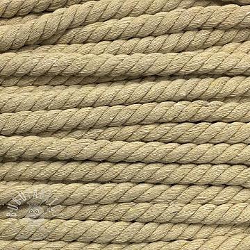 Cotton cord 15 mm natur