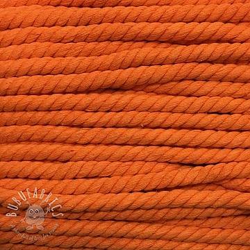 Cotton cord 15 mm orange