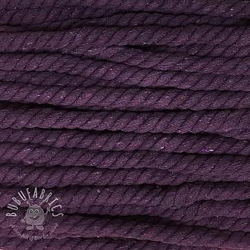 Cotton cord 15 mm purple