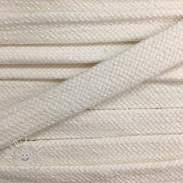 Cotton cord flat 17 mm cream