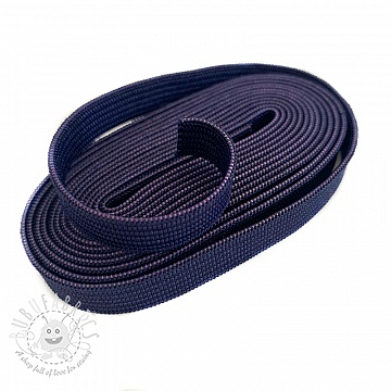 Elastic 10 mm dark blue 2 m Bundle