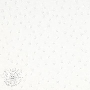 Faux leather AUTRUCHE blanc