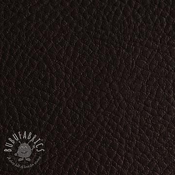 Faux leather KARIA ebene