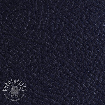 Faux leather KARIA marine