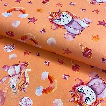 Jersey Candy unicorn digital print