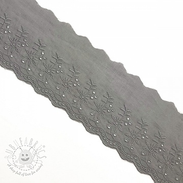 Lace Double flower grey