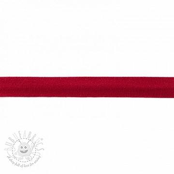 Bias binding jersey dark red