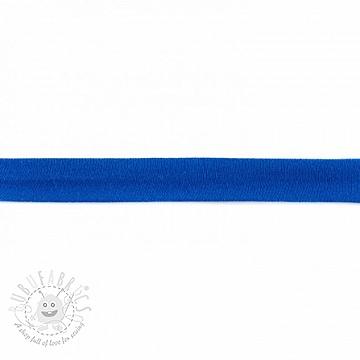 Bias binding jersey blue