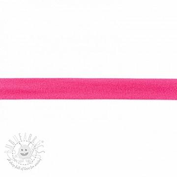 Bias binding jersey pink