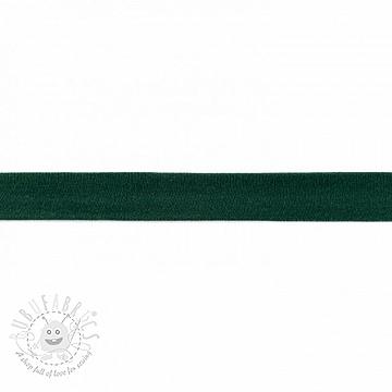 Bias binding jersey dark green