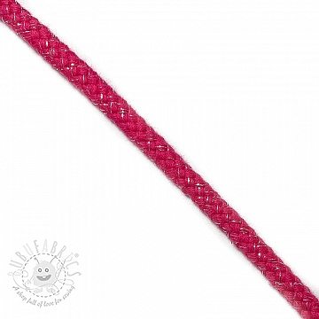 Lurex cord 10 mm fuchsia