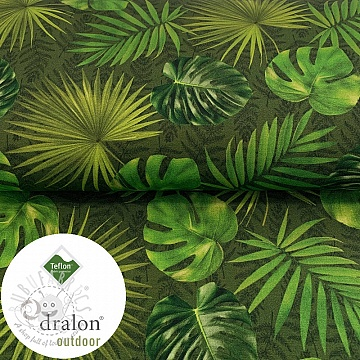 Outdoor decoration fabric TEFLON LEAVES AMAZON