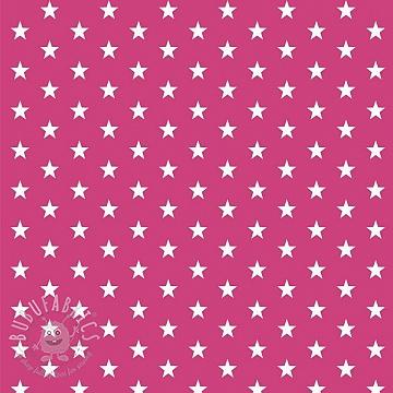 Cotton fabric Petit stars pink