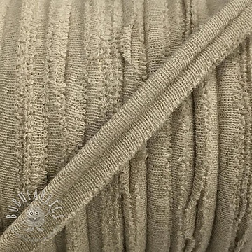 Piping tape jersey beige