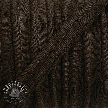 Piping tape jersey brown