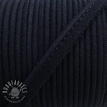 Piping tape jersey navy