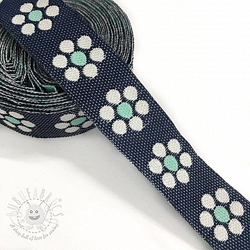 Ribbons Jeans flowers mint