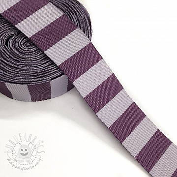 Ribbons Stripe purple