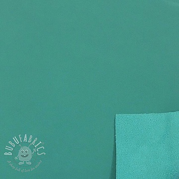 Softshell turquoise green