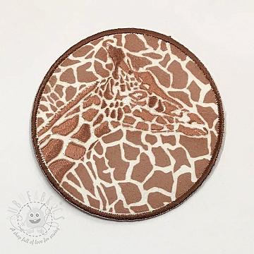 Sticker BASIC Giraffe bronz