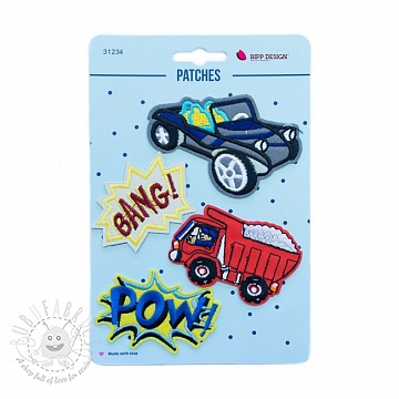 Sticker BIPP Bang Car