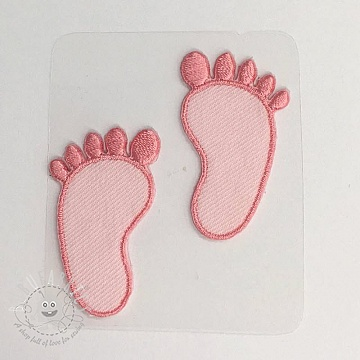 Sticker MIDI Foot Print pink