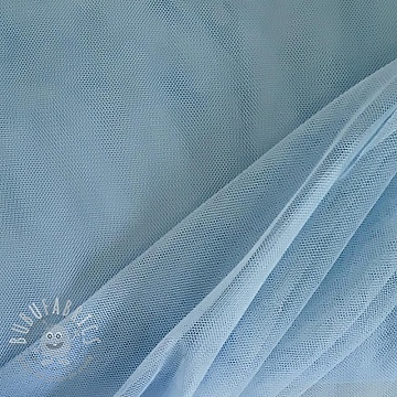 Tulle netting light blue 160 cm