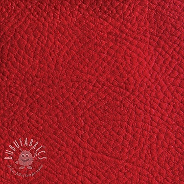 Faux leather KARIA rouge