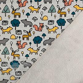 Alpenfleece Animals grey